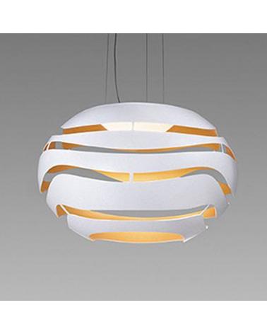 Lámpara de diseño de techo TREE SERIES S75 LED 25,7W 3000K pantalla de aluminio