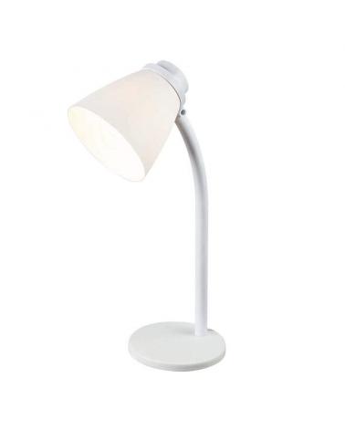 30cm plastic round base lamp 25W E14