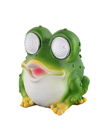 Solar lamp frog 9cm 0,024W 3V LED