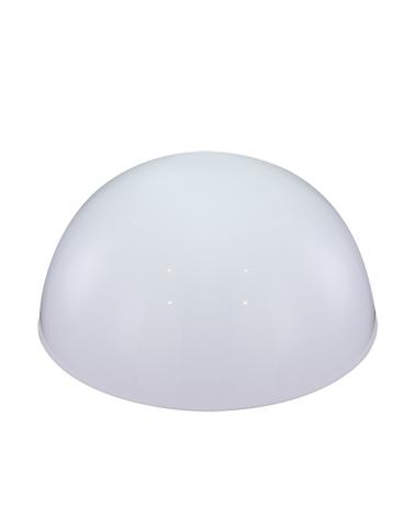 Aplique solar LED 20cm para exteriores blanco IP44