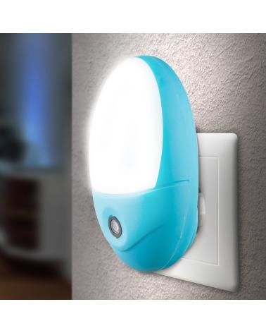 Children's night light plug-in night light 10cm oval shape 6500K
