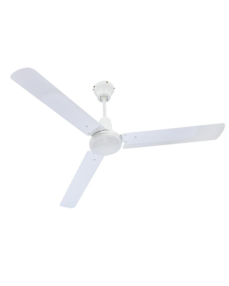 70W White Finish Metal 142cm Ceiling Fan