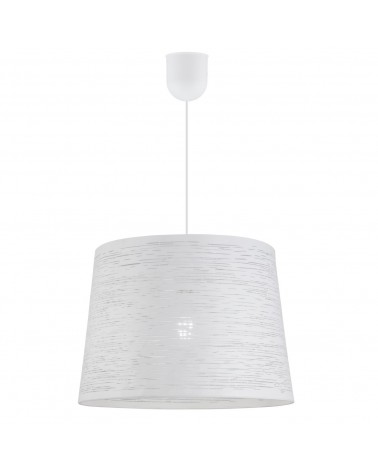 Ceiling lamp 35cm white metal lampshade holes 60W E27 lines