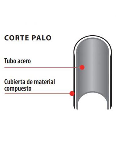 Farola clásica baliza IP44 15W E27 alto 120cm con difusor de policarbonato biselado UV resistente