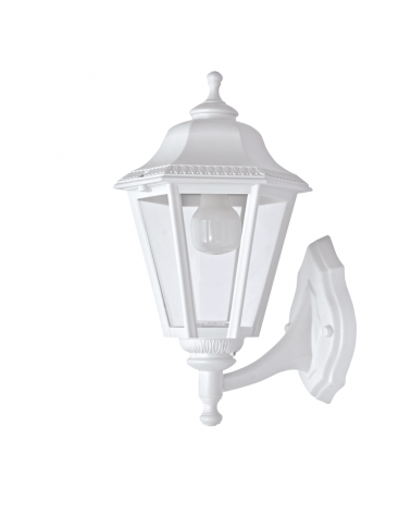 Classic outdoor wall light IP44 15W E27 high 40cm with head up