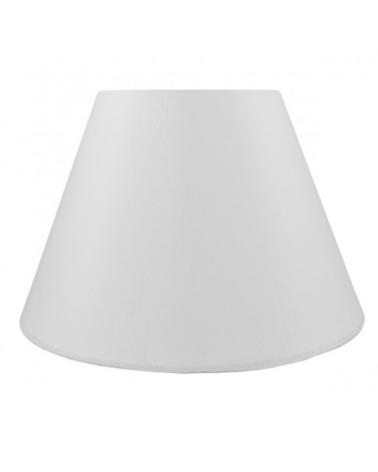 White finish wire lampshade 40x23cm E27