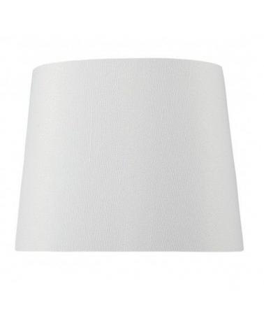 White finish thread cone shape lampshade 25x15cm E27