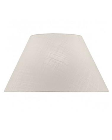 Pantalla de lino acabado blanco 40x23cm E27