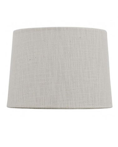 Cone shaped lampshade with beige finish 25x14cm E27