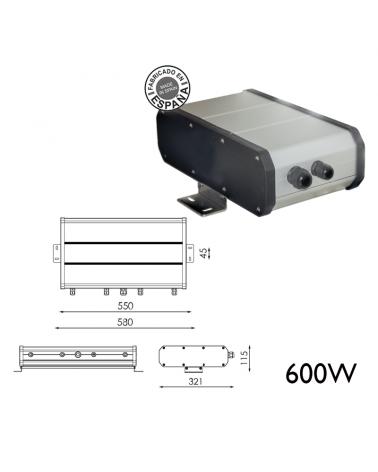 Remote box 600W 120WH DALI