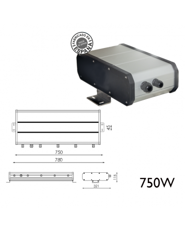 Remote box 750W 120WH DALI