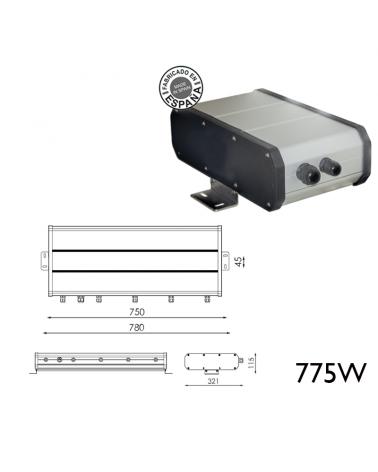 Box remoto 775W 48WH DALI