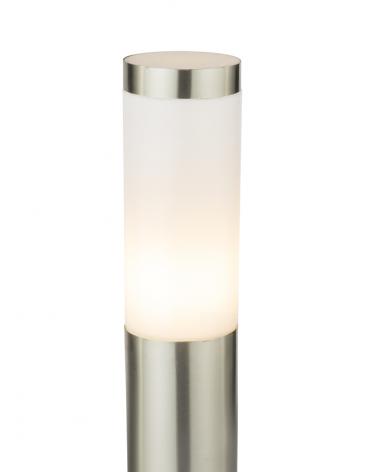 Bollard45cm stainless steel 60W E27