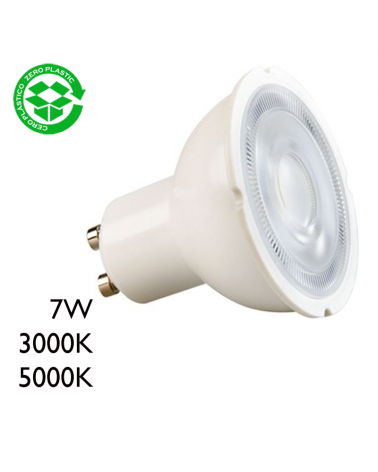 Spot LED 7W GU10 60º 670Lm.