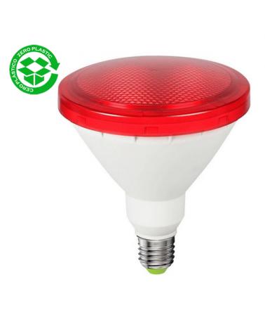 PAR38 LED 15W red bulb IP64 E27 1200Lm.