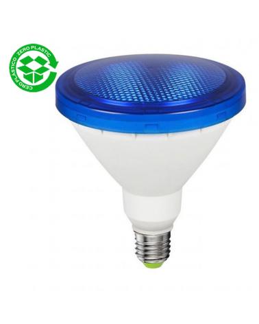 PAR38 LED 15W blue bulb IP64 E27 1200Lm.