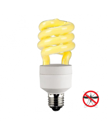 Spiral anti-mosquitoes light bulb low consumption 23W E27