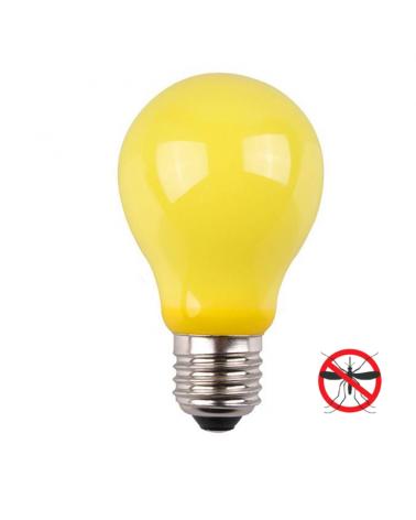 Standard incandescent anti-mosquito bulb 60W E27