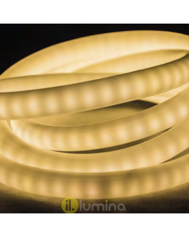 Neon led tube light 50 meter 360º, 240 leds x meter 12.000 leds IP65 230V