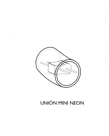 Connector for Mini Neon LED tube