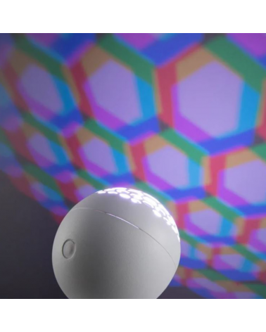 RGB LED table or wall lamp 6W 300Lm white with decorative light effects