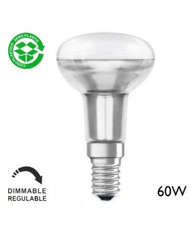 Incandescent reflector bulb 60W E14 50mm
