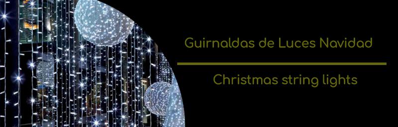Guirnalda LED Navidad